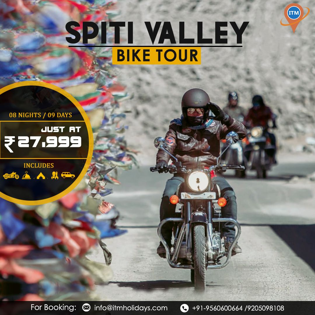 Visit Spiti Valley A Perfect Fusion Of Landscapes And Roads That Will Thrill Explore This Gem Of Nature With Our 09 Days Spiti V In 2020 Spiti Valley Road Trip Trip