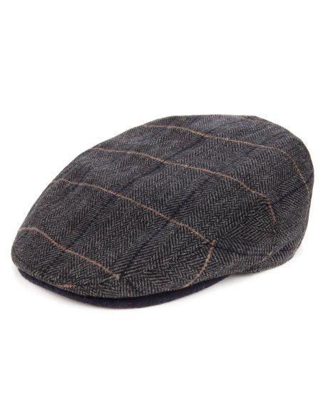 04b8be2ba8538 THEROAD - Check flat cap - Plaid