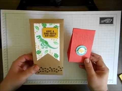 Using the Gift Bag Punch Board – Cafe Bags…