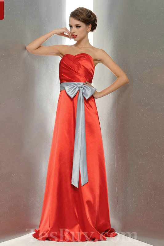 78 Best images about Red Bridesmaid Dresses on Pinterest  Wedding ...