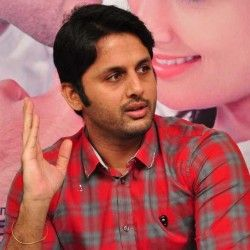 nithin romance with two heroins