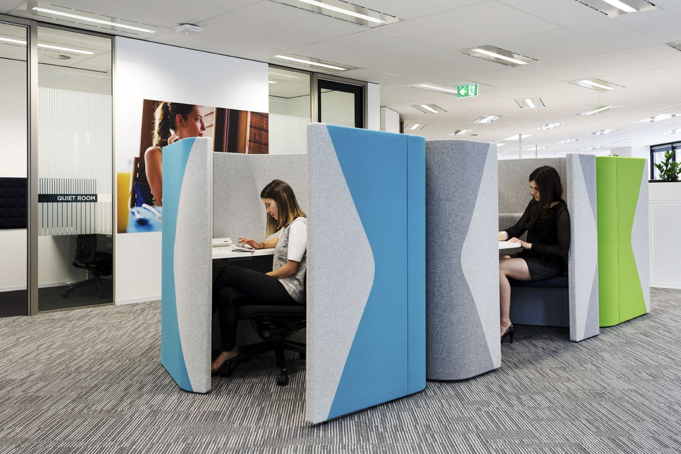 pods office. Allermuir Haven Pods Duo And Solo. Support Concentration Privacy. Flexible Space Instead Of Office
