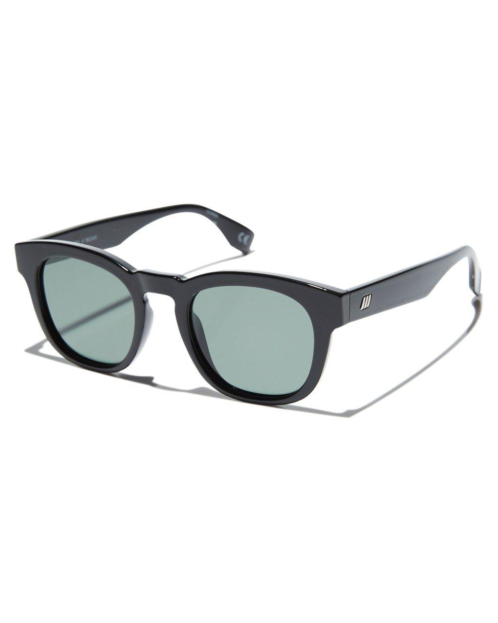15a3af0851f Le Specs Block Party Polarized Sunglasses Black Mens sunglasses Size ...
