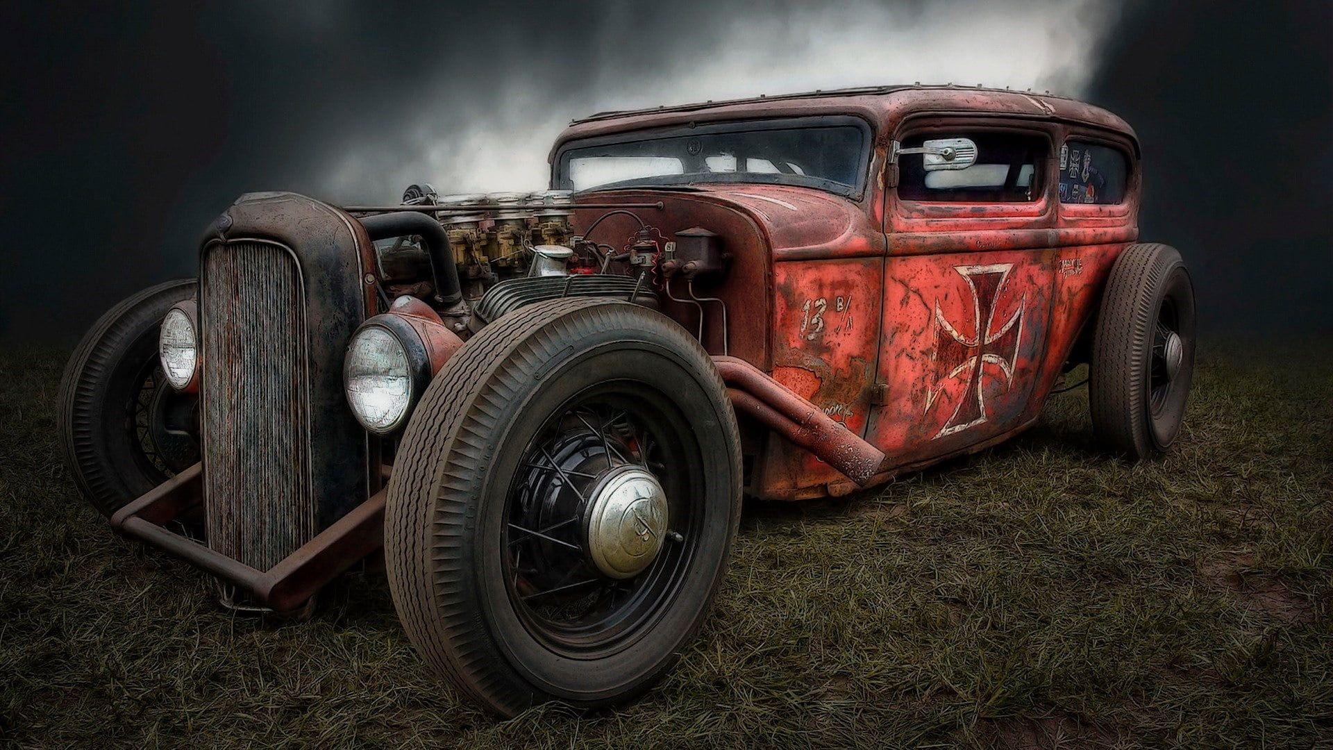 #car rat rod #vehicle hot rod automotive design vintage car classic car automoti…