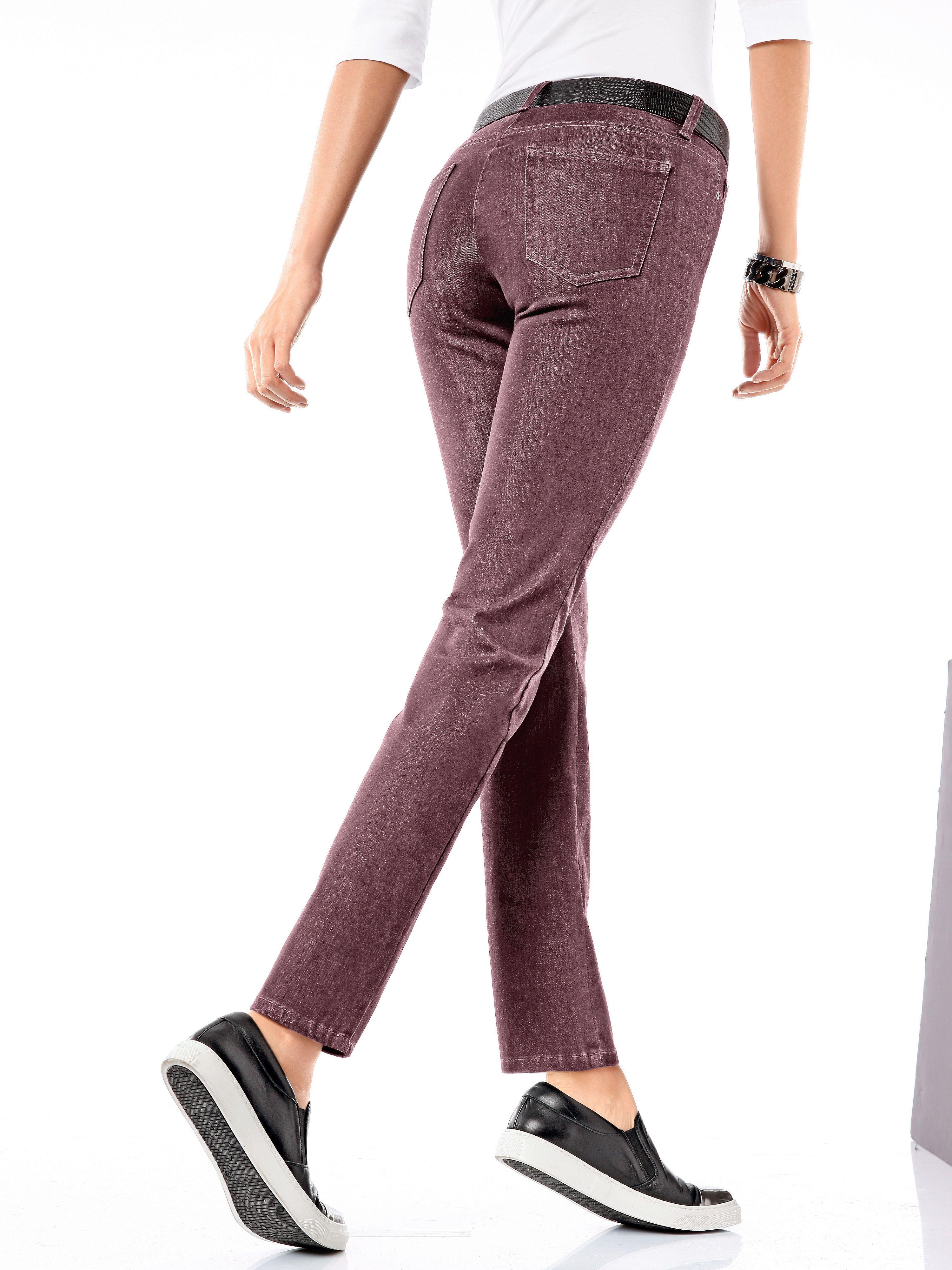 "dc2465b7fbed Brax Feel Good ""Slim Fit´´-Jeans - Modell SHAKIRA rot   Trends 2016 ..."
