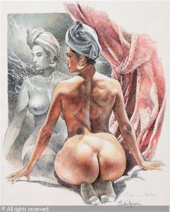 Brunette playmates nude