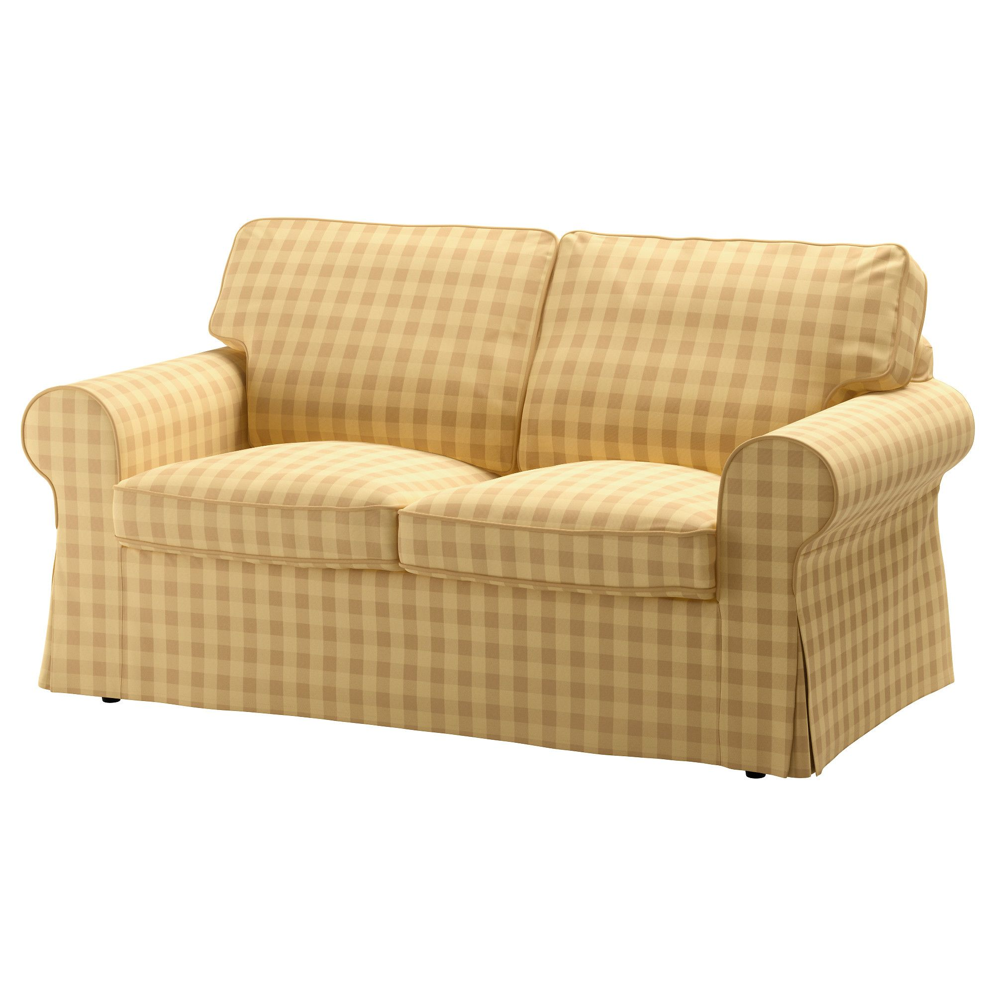 Groovy Ektorp Loveseat Cover Skaftarp Yellow Guest House Ikea Lamtechconsult Wood Chair Design Ideas Lamtechconsultcom