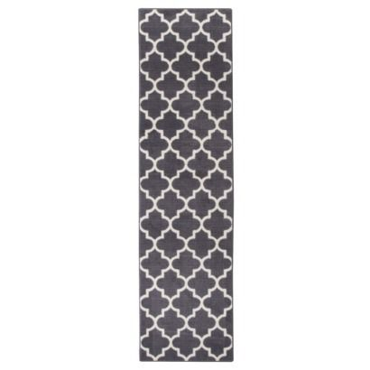 Maples Fretwork Runner Charcoal Gray 1 10 Quot X7 A New