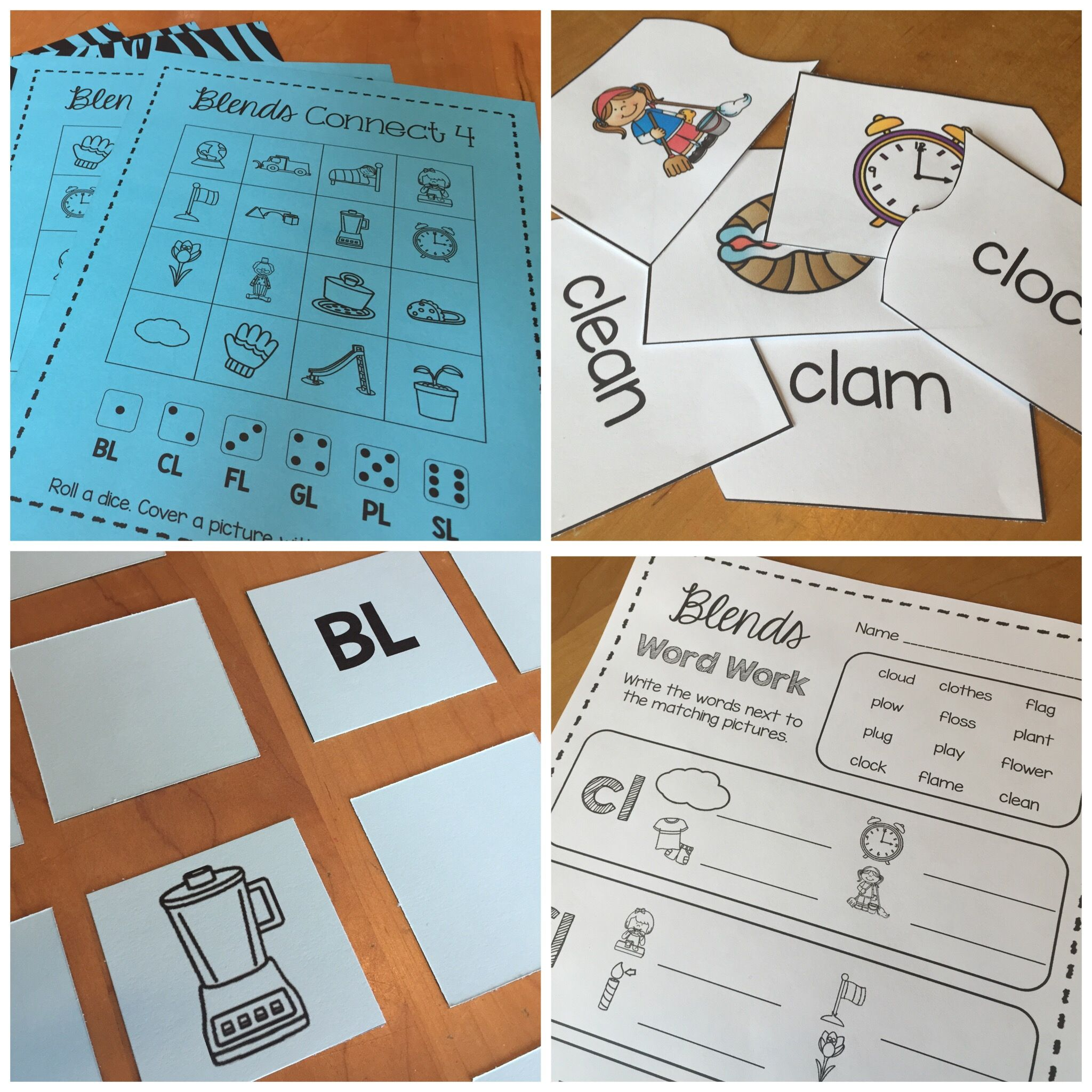 Blog Post About Teaching Blends Free Game In The Post And