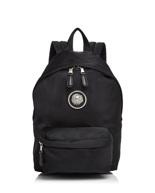 75d876da0155 Versus Versace Lion s Head Small Nylon Backpack