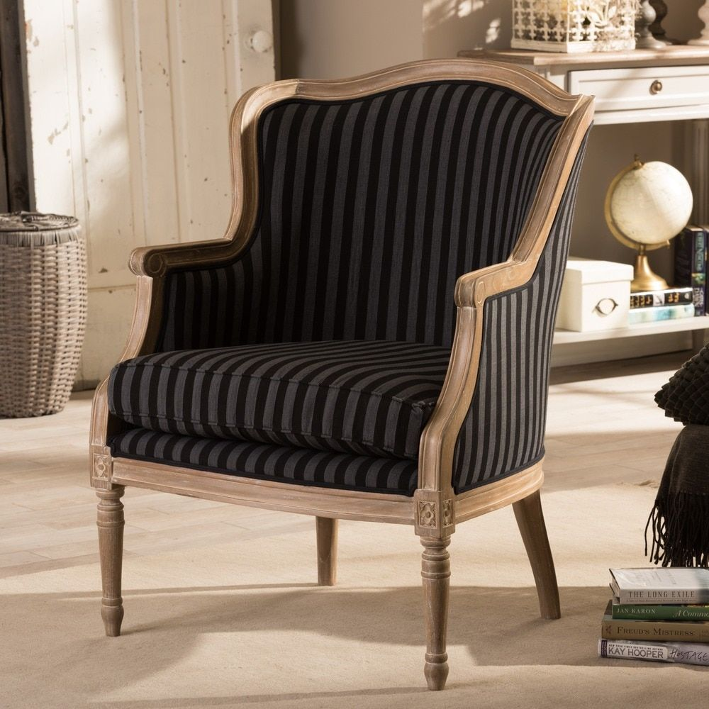 Best Baxton Studio Charlemagne Traditional French Black And 400 x 300