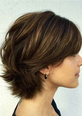 100 Mind-Blowing Short Hairstyles for Fine Hair in 2018 | Layered ...