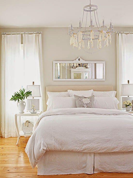 Rincones detalles gui os decorativos con toques romanticos for Ver dormitorios matrimonio