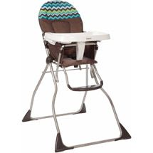 Walmart Cosco Flat Fold High Chair Chevron Lime Folding High Chair Baby High Chair High Chair