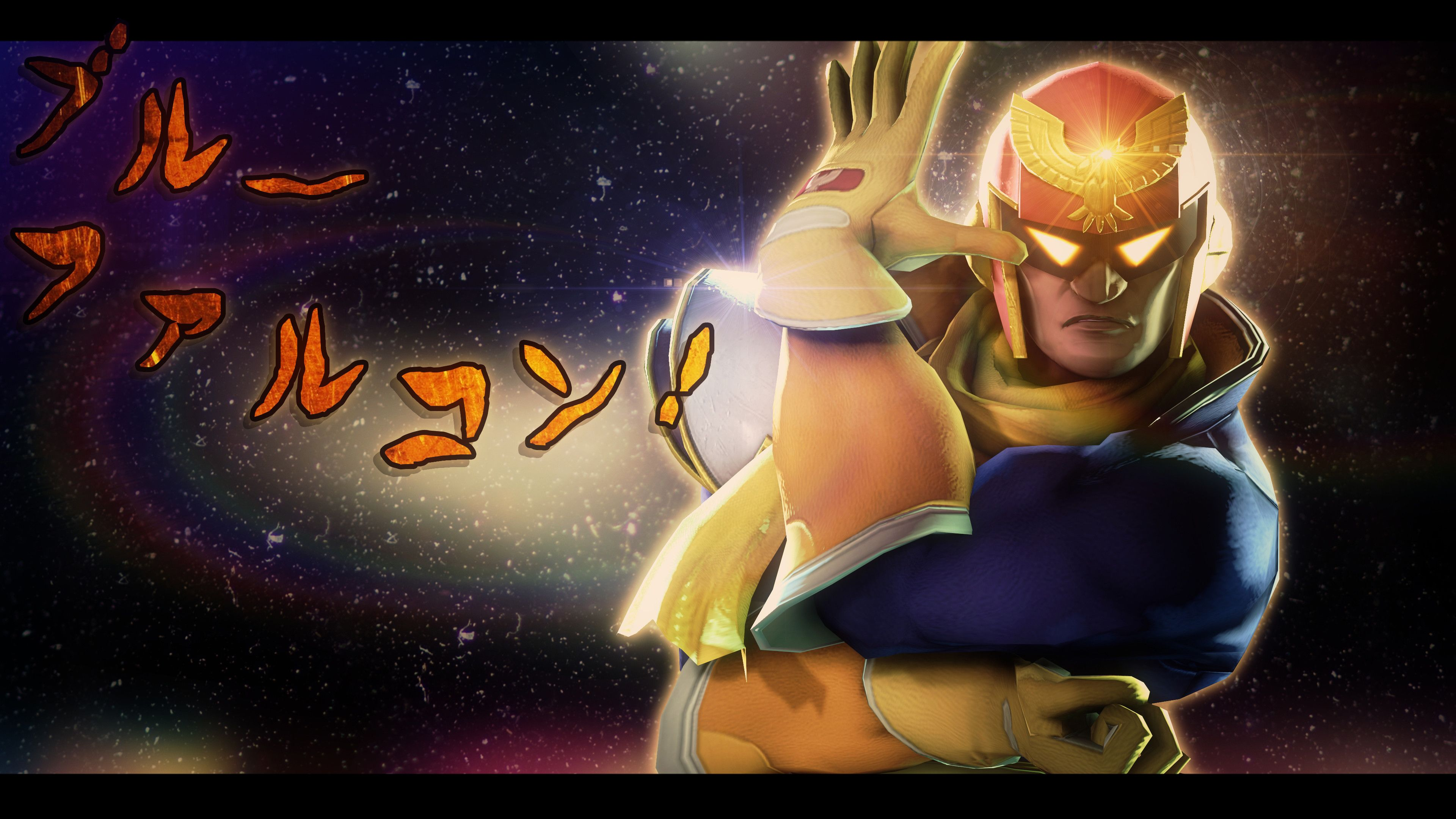 75 Captain Falcon Wallpapers On Wallpaperplay Captain Falcon Captain Falcon Art Falcon Wallpaper
