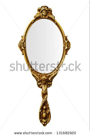 Vintage Mirrors Drawing Vintage Hand Mirror Stock Vintage Mirrors Mirror