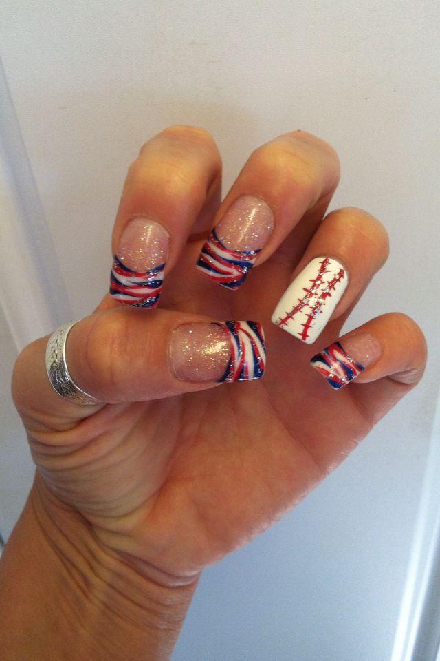 baseball nails misty