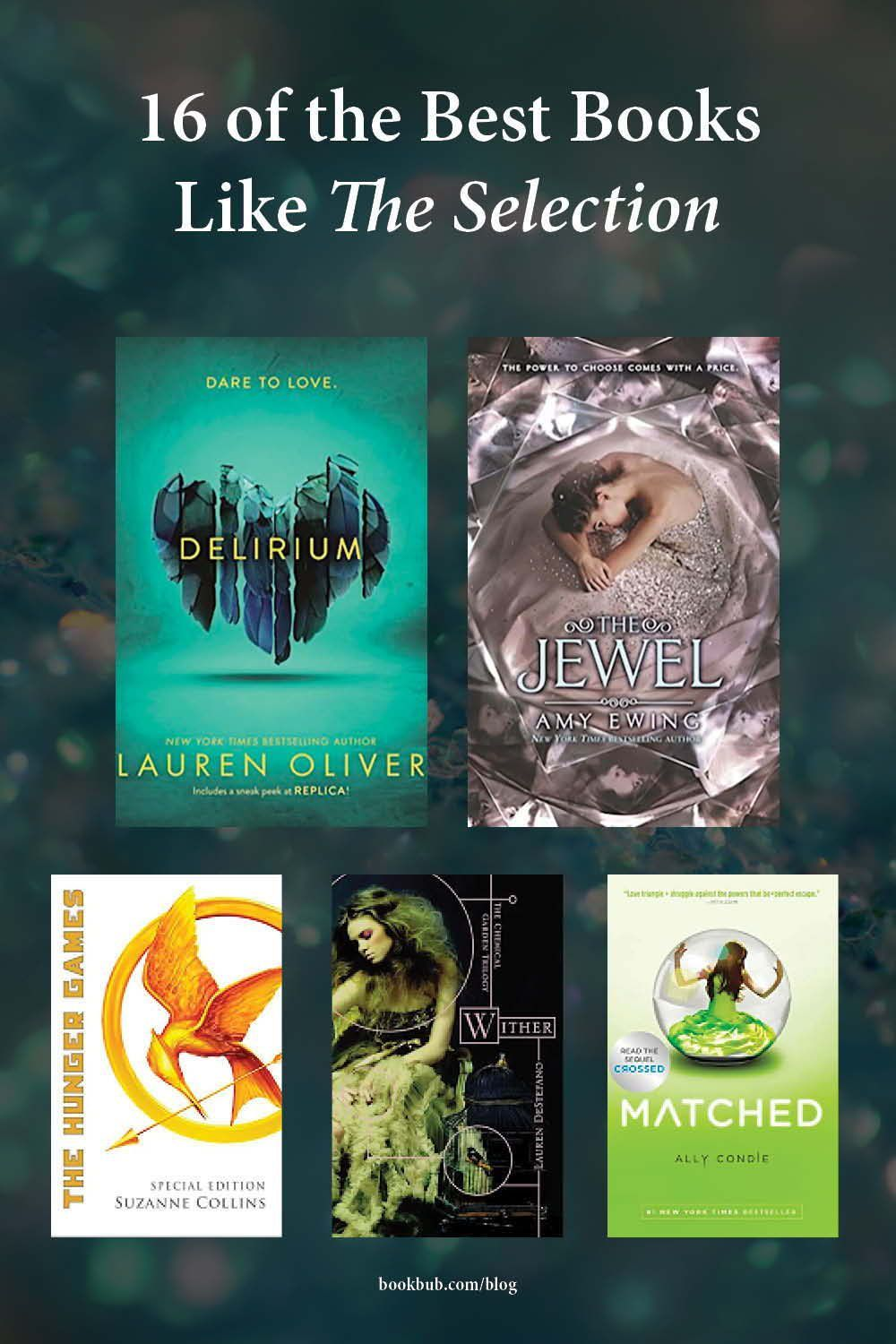 16 Books To Read If You Love The Selection Books For Teens Best Books To Read Dystopian Books