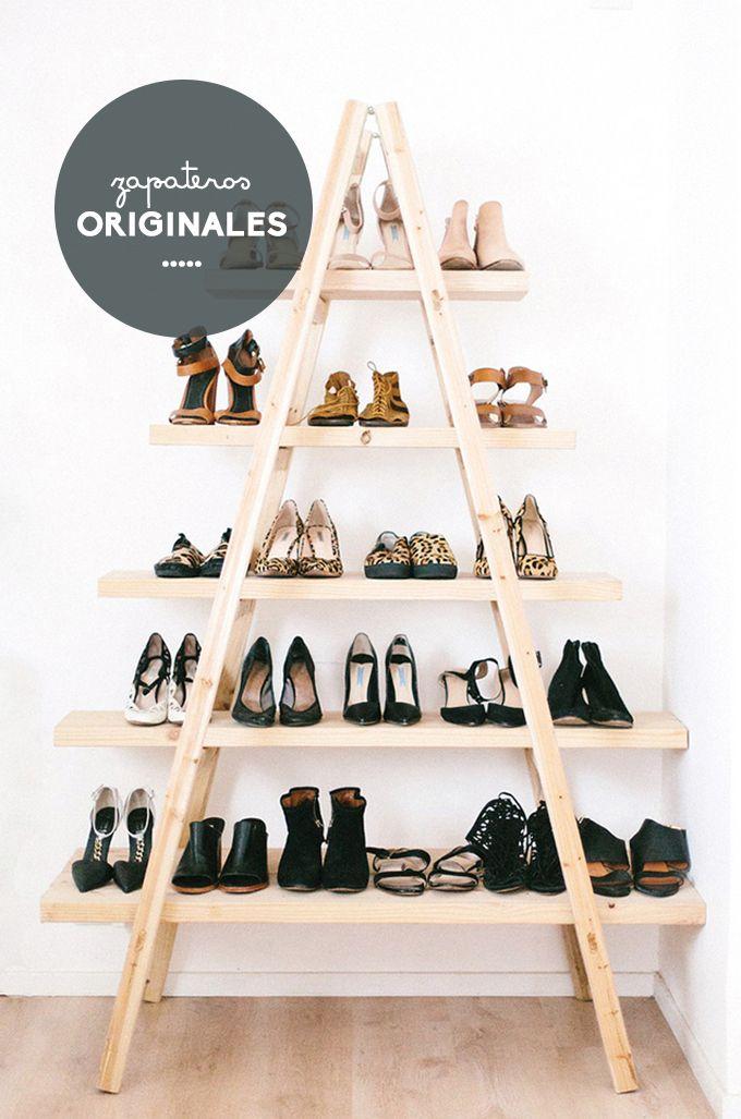 Zapatos organizados armario bonitista zapateros for Zapateros originales