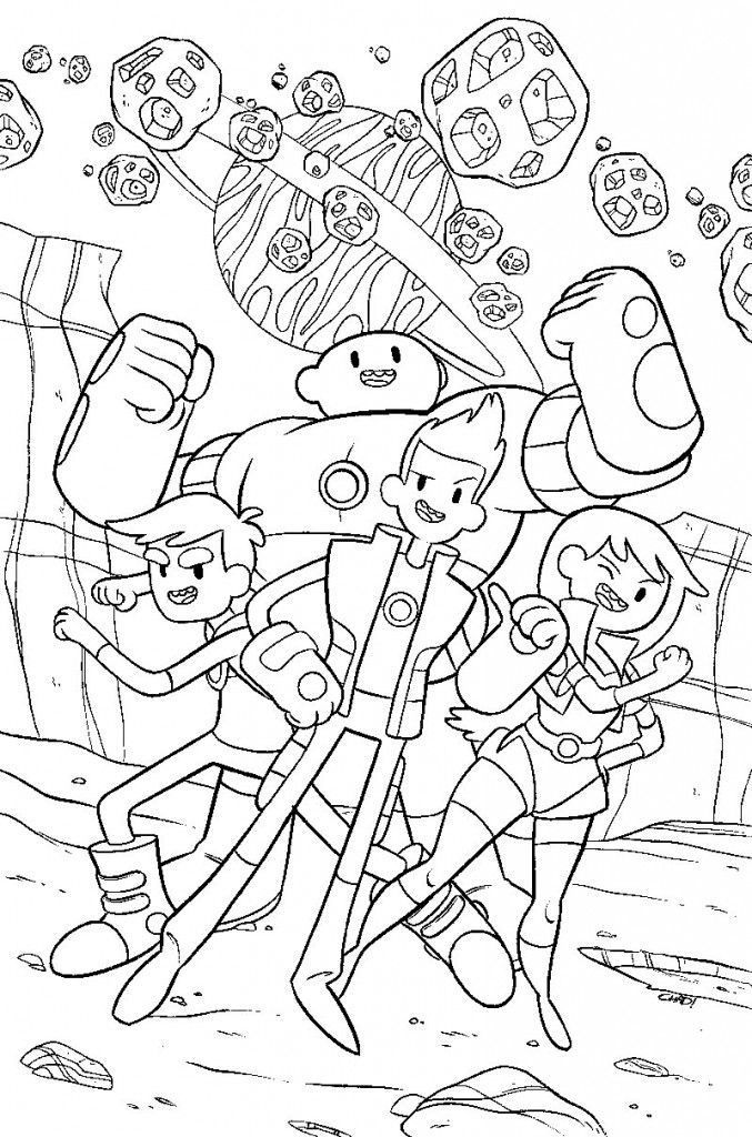 Bravest warriors coloring page things i love pinterest for Catbug coloring pages