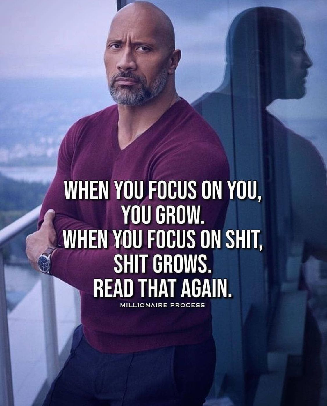 When you focus on you, you grow. When you focus on $hit, $hit grows. Read that again.  #relationships #men #intimacy #relationshipadvice #allanapratt #success  #lovecoaching #goalsetting  #marriageproblems #relationshipproblems #movingon #healingfromheartbreak #adviceblog #affirmations #words #photooftheday #bestoftheday #thankfulheart