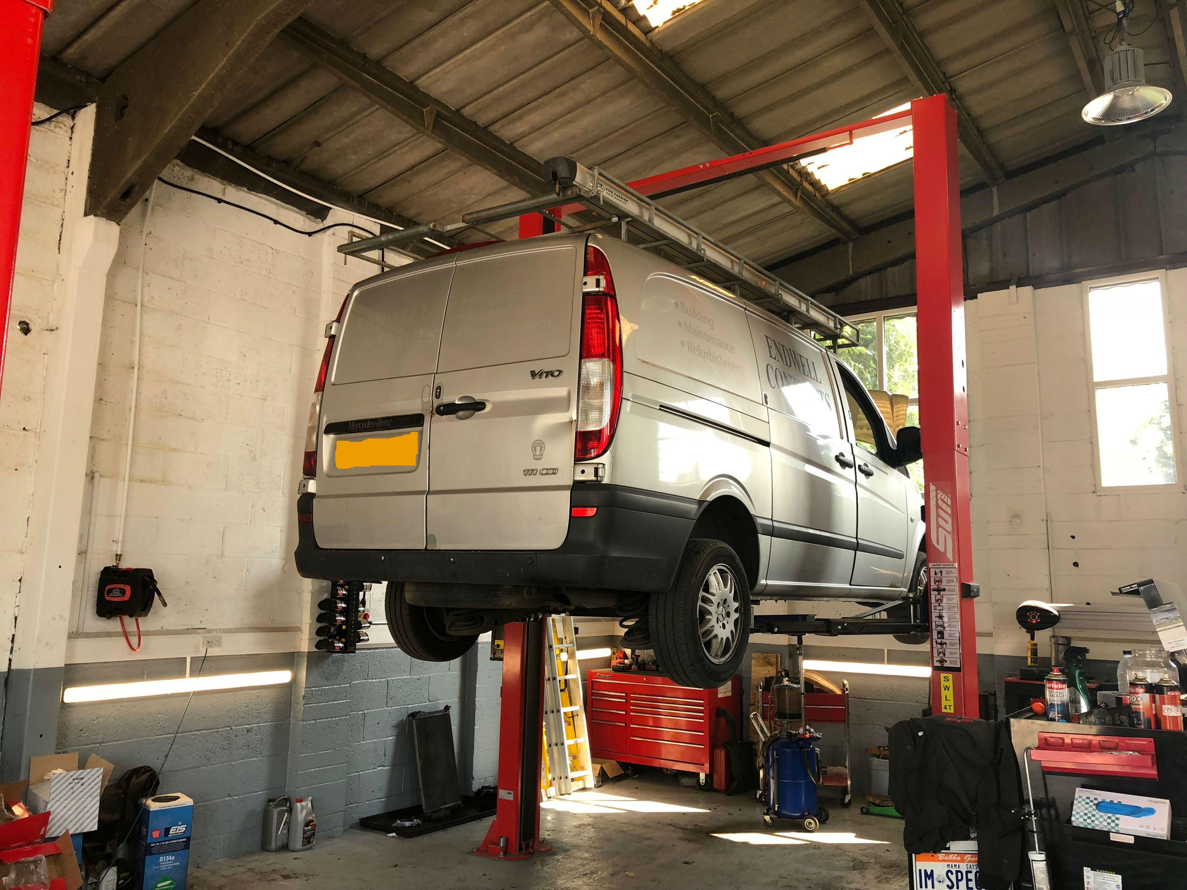 Pin by Hartley Garage on Garage Services Van, Mercedes
