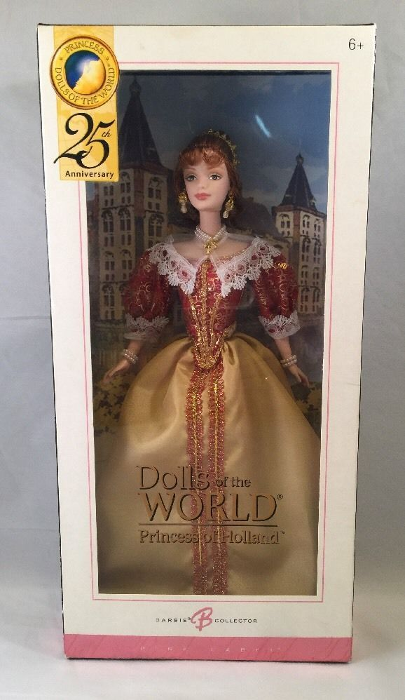 Dolls of the World Princess of Holland Barbie Collector Pink Label