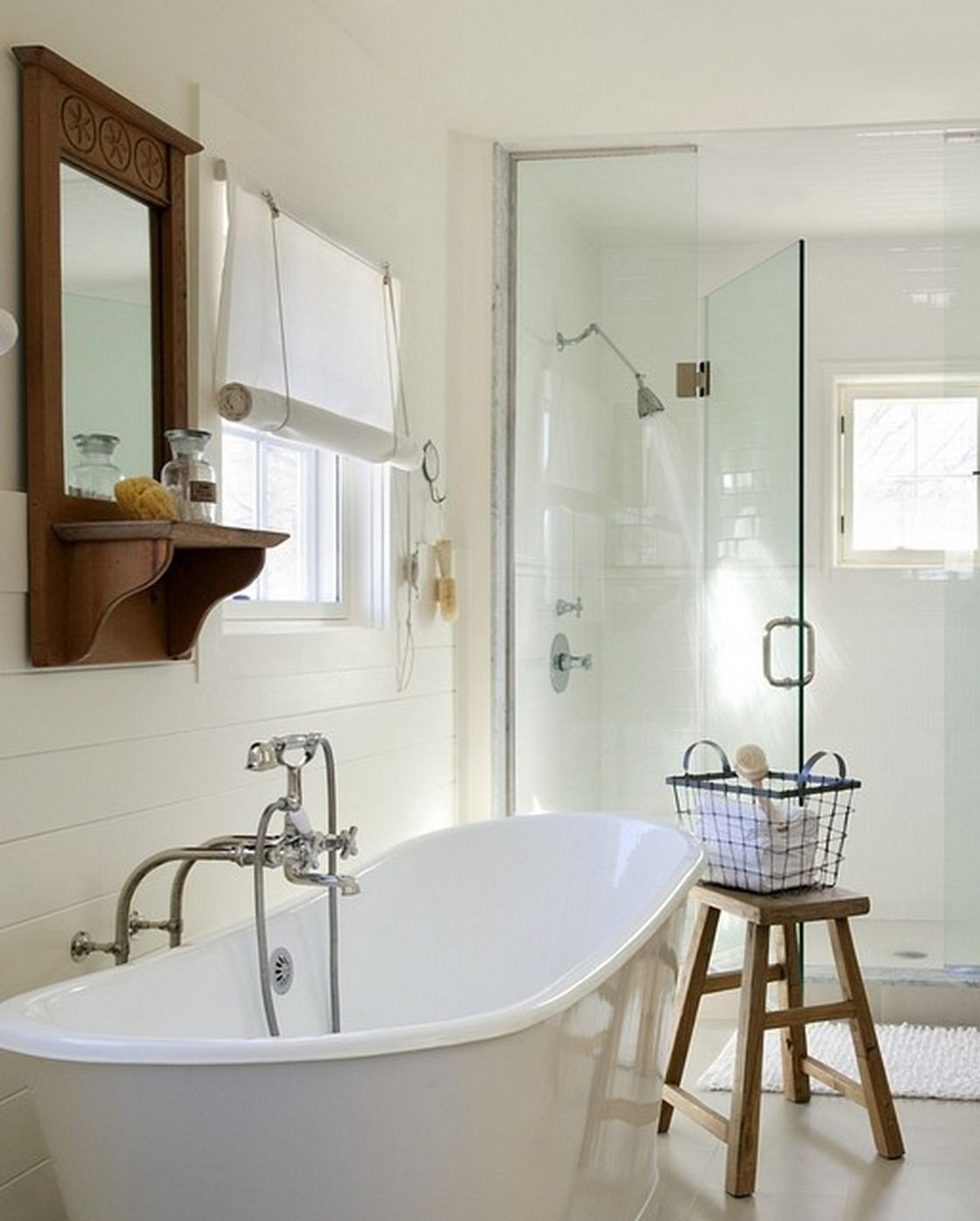 You\'ll love relaxing in a freestanding tub like this one from ...