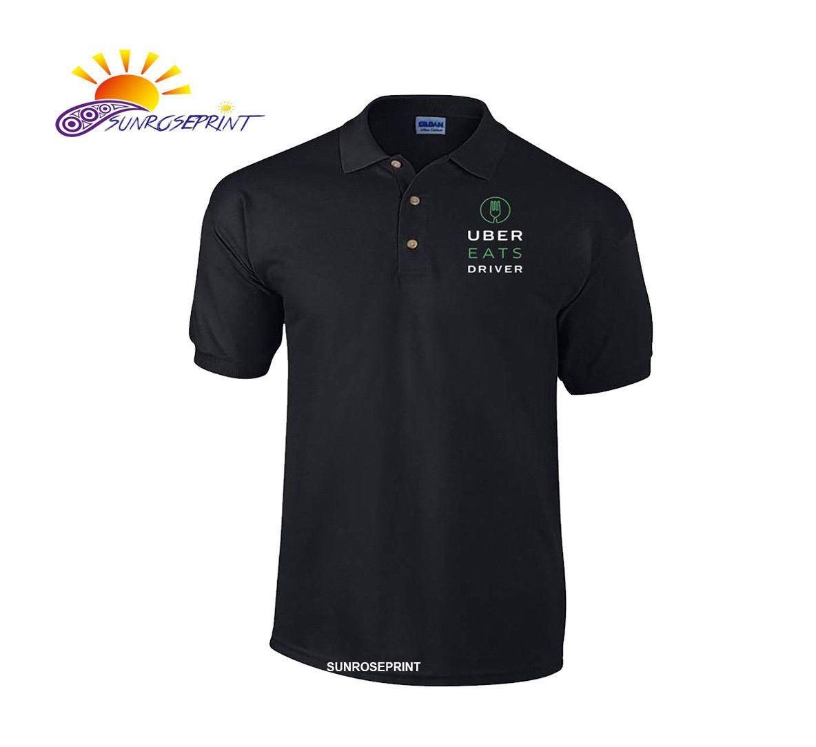 Details about UBER EATS Polo shirt, UBER EATS driver shirt