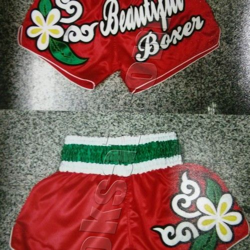"Twins Muay Thai Shorts NEW - T-3 - ""Beautiful Boxer"" Island Floral Print"
