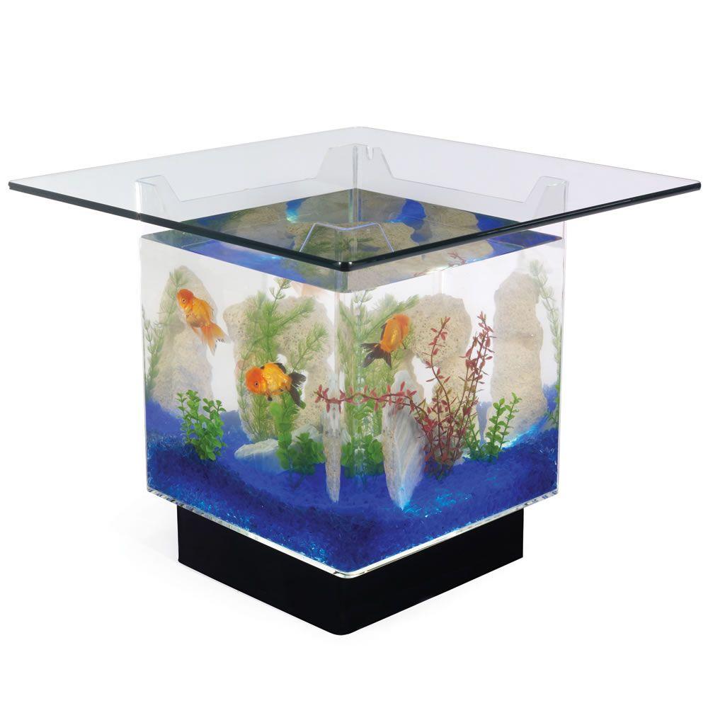 Aquarium Coffee Table Interer Dlya Doma Dom