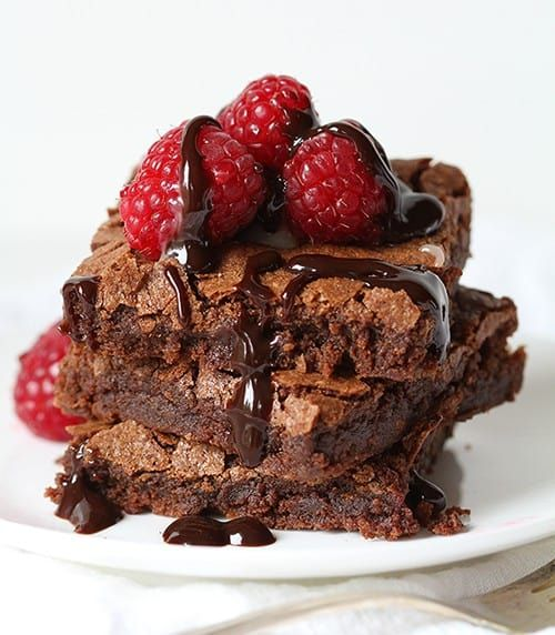 This is the PERFECT homemade brownie. Not only is it delicious, but it will replace any box mix!