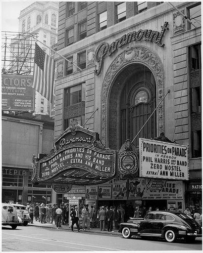 Paramount Theater Paramount Theater Vintage Theatre New York City