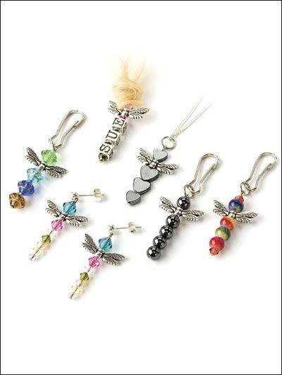 Beading - Jewelry Patterns - Sets Patterns - Dragonfly Fun ...