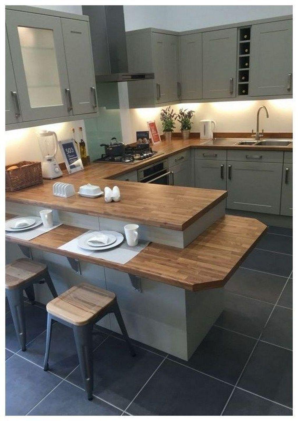 39 Cool Kitchen Design Ideas With Temporary Looks Kitchen