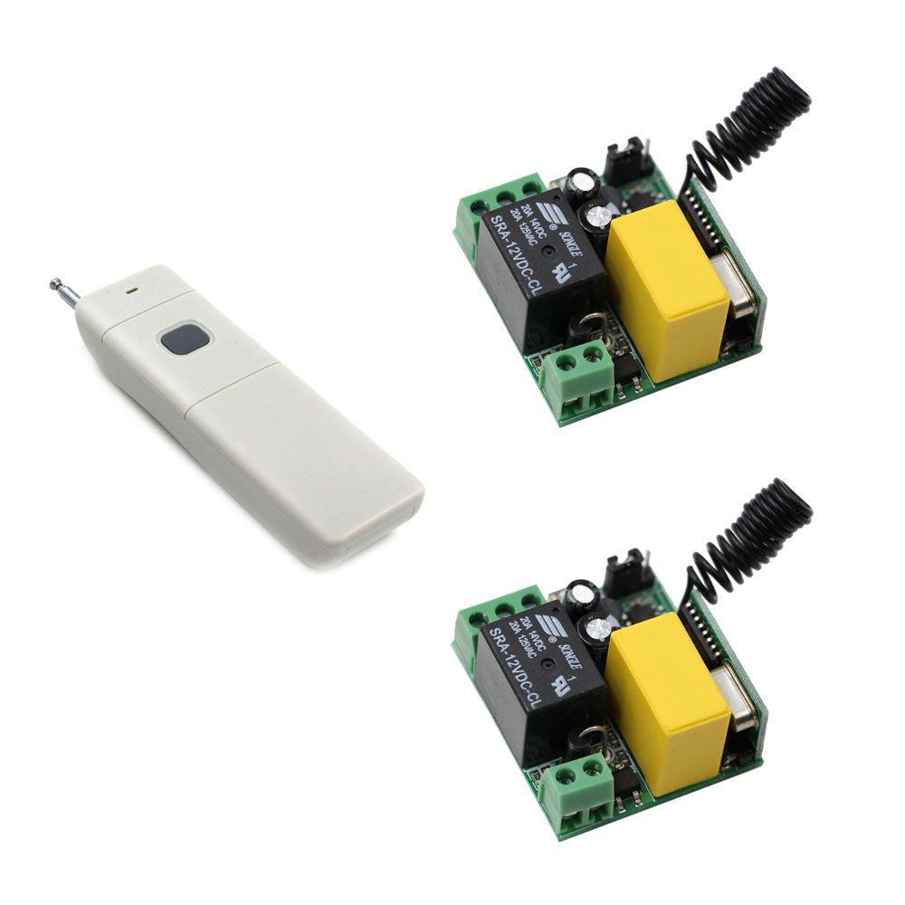 New AC220V 1CH RF Long Range RF Wireless Remote Control