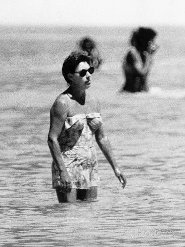 Princess Margaret On Holiday In Mustique Roddy Llewellyn