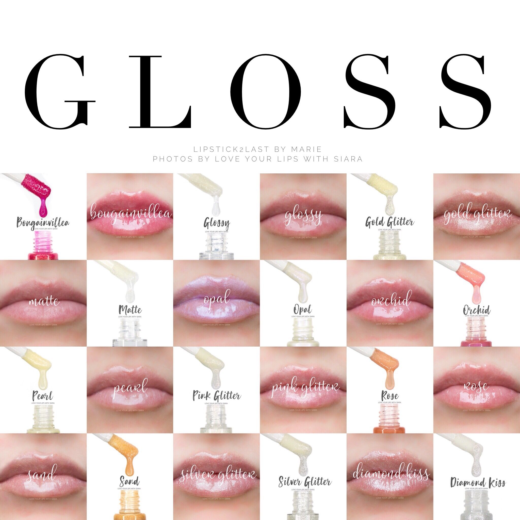 Lipsense Gloss Options To Seal In Color And Hydrate Lips With
