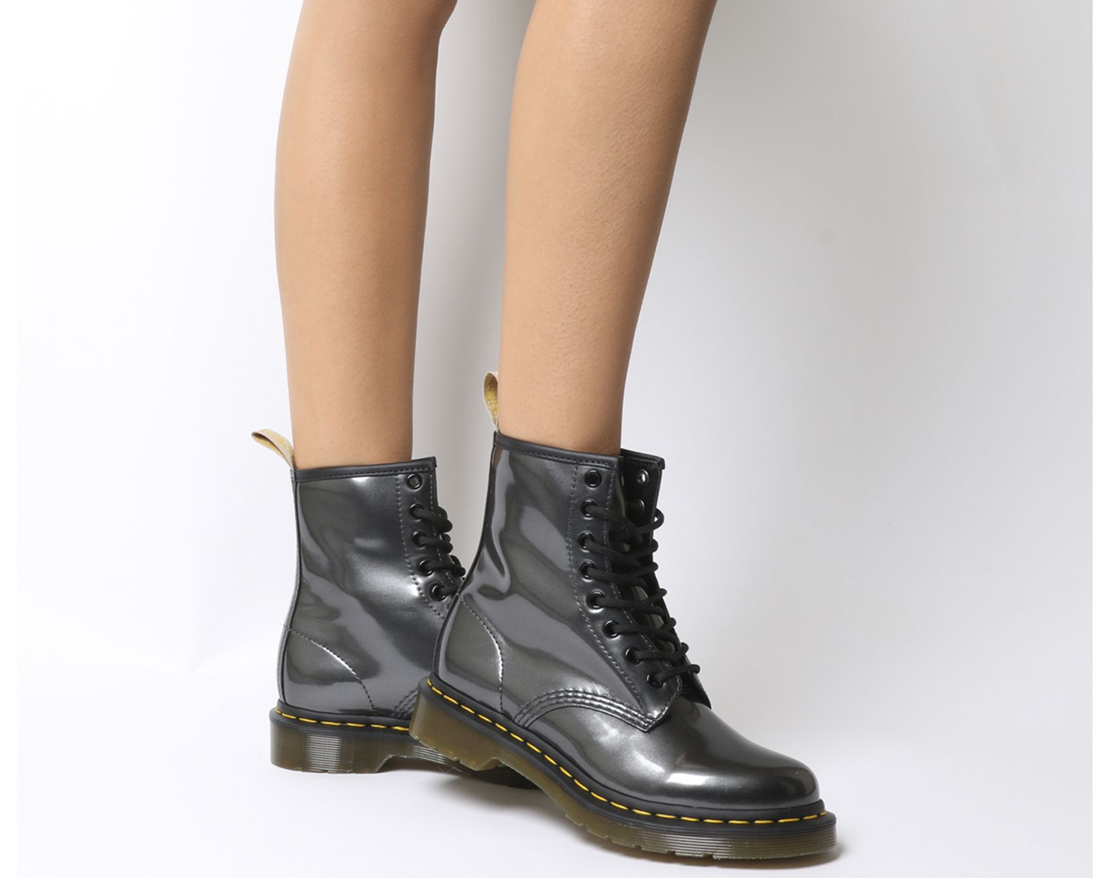1460 Vegan Chrome Boots | Boots, Insta outfits, Shoes