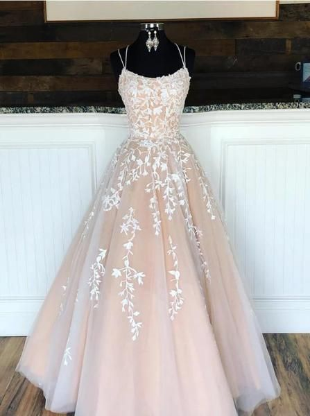 Champagne Prom Dresses Long, Evening Dress ,Winter Formal Dress, Pageant Dance Dresses, Graduation School Party Gown 1374