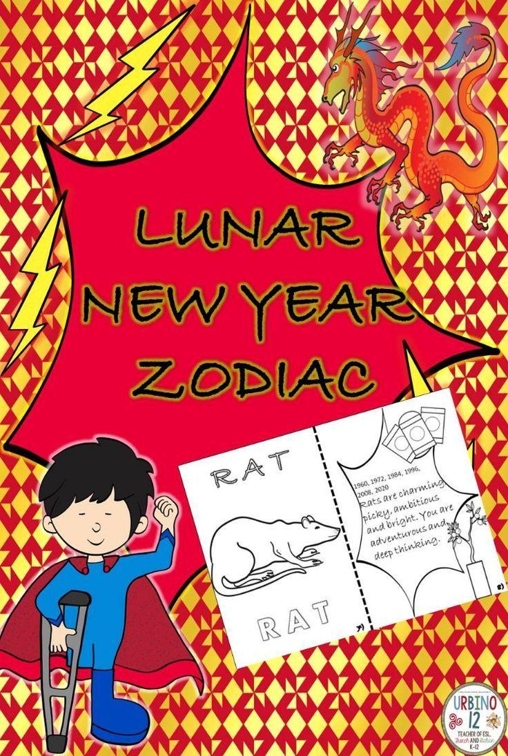 Lunar New Year Zodiac in 2020 Lunar new, World language