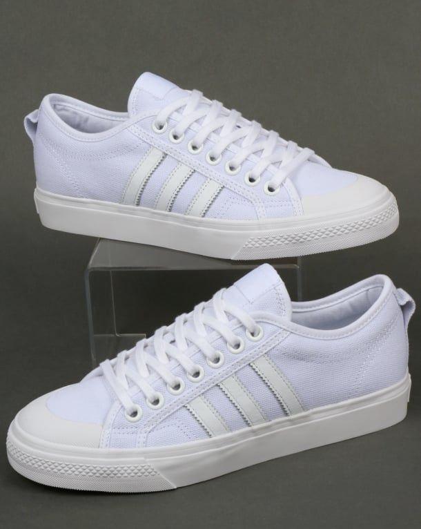 Adidas Nizza Trainers White | Adidas