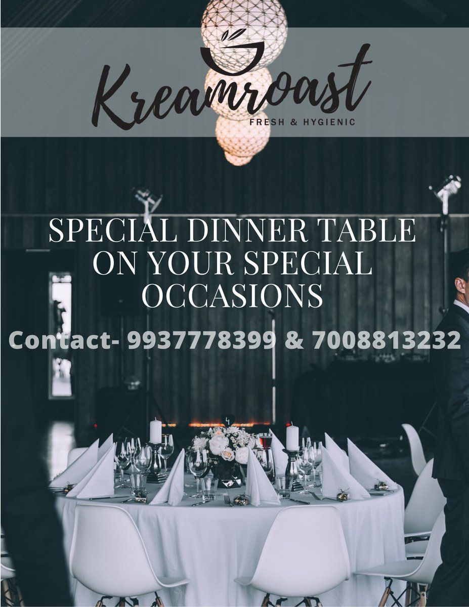A premium catering service kreamroast If you need a best hospitality with proper traditional and customized menu for your event Kreamroast is the best solution for your a...