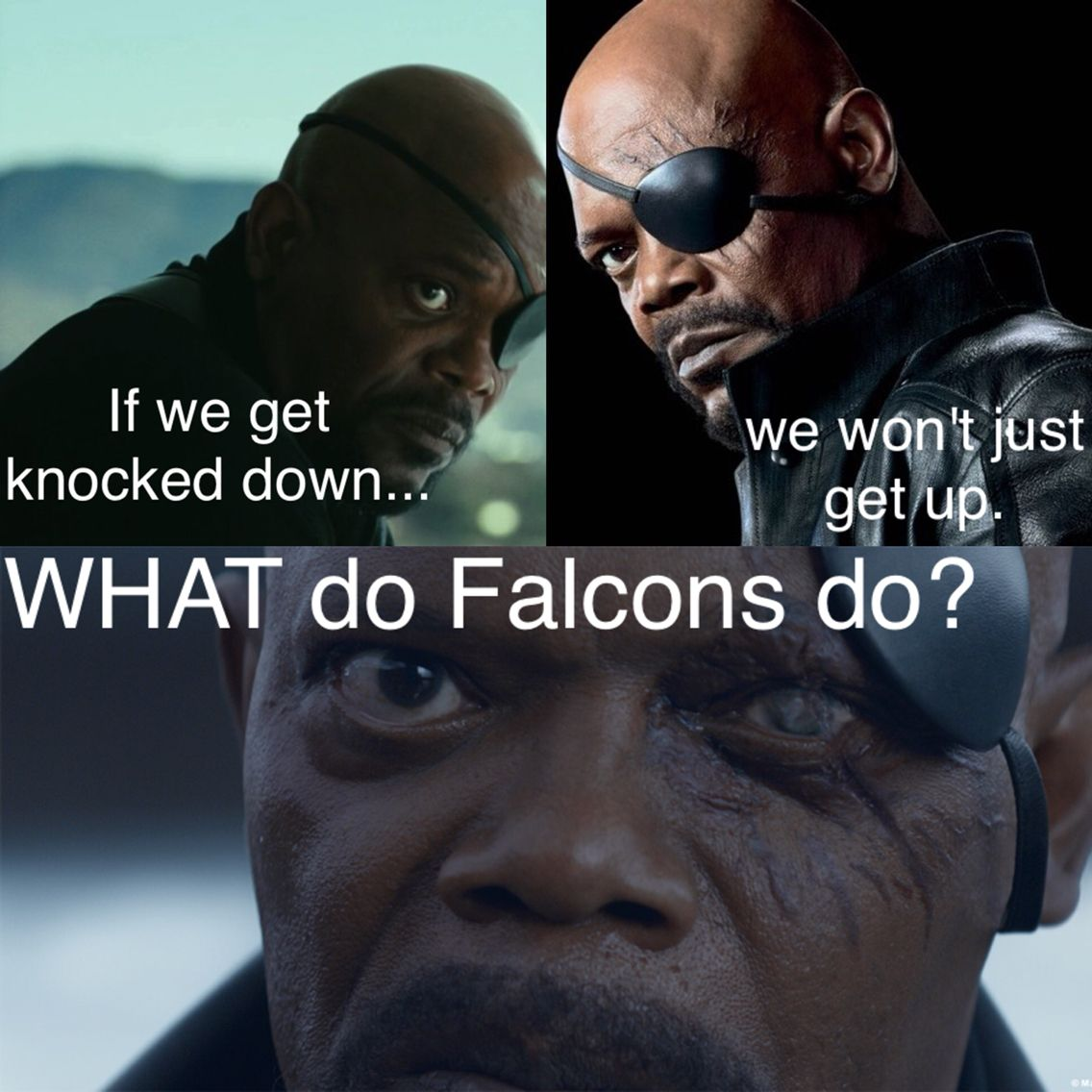 Just A Falcons Meme I Made In My Spare Time Enjoy Quinning Dirtybirdnation Riseup Atlanta Falcons Football Atlanta Falcons Wallpaper Falcons Football