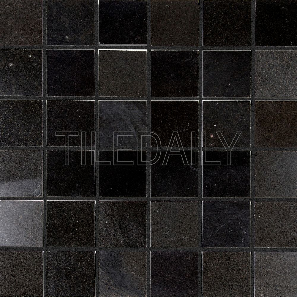 2x2 natural stone mosaic tile in