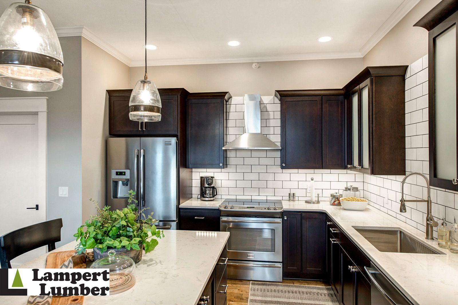 A Kitchen Master Bath And Kid S Bathroom Remodel In Pella Iowa Was Updated From Bland And Kitchen Cabinet Remodel Trendy Kitchen Backsplash Kitchen Cabinets