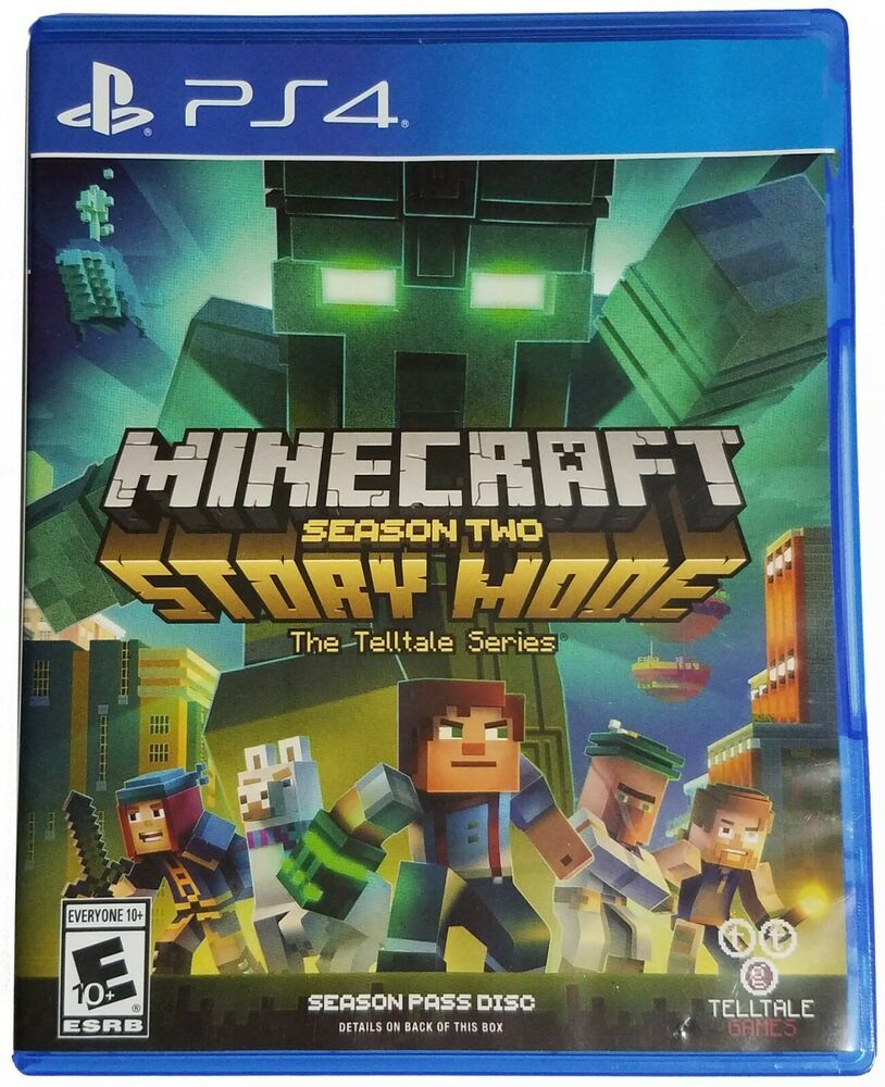 Minecraft Story Mode Season 2 Two Ps4 Sony Playstation 4