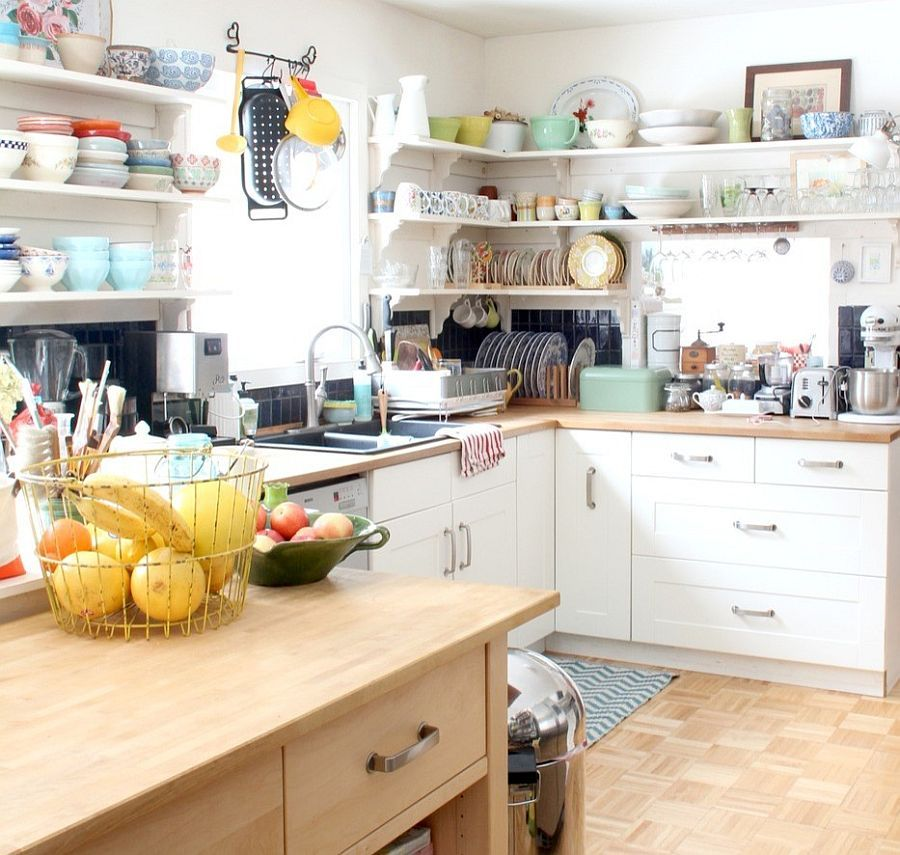 50 Fabulous Shabby Chic Kitchens That Bowl You Over  Corner Fair Very Small Kitchen Designs Design Decoration