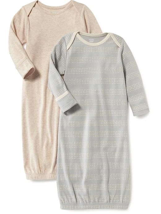 Sleeping Gown 2-Pack for Baby Product Image | Emery Austin ...