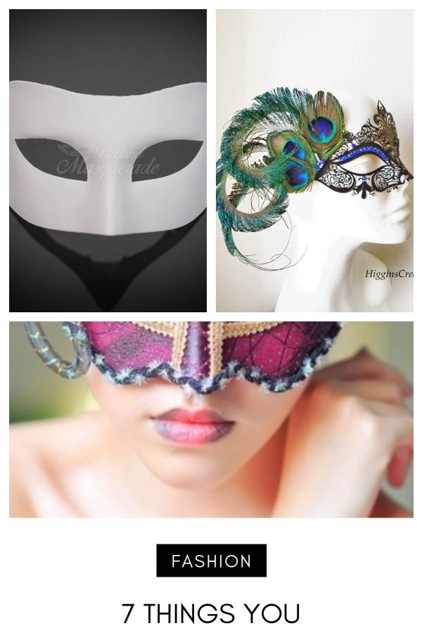 Blank Party Masks for Painting All Black or All White Masquerade Masks